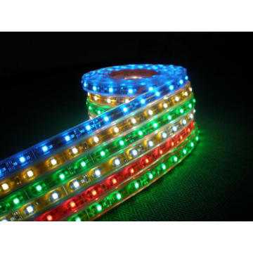 Hög Lumen DC12 24V flexibla SMD5050 LED Strip ljus