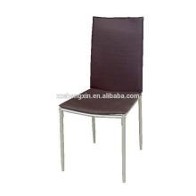 Vente en gros de chaises de salle à manger en métal pour hôtel