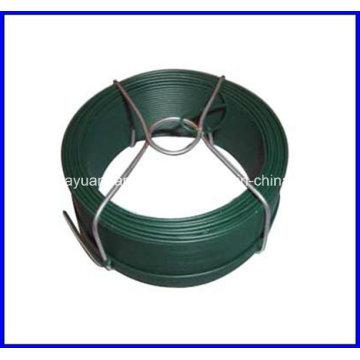 0,25 lb Petit fil de fer en fer recouvert de PVC pour supermarché