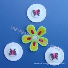 Étiquette Pvc, éponge en caoutchouc, jolie conception pour enfant étiquette de vêtement