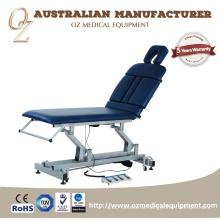 Gute Qualität CER anerkannter australischer Hersteller medizinische Grad-elektrische Klinik-2 Abschnitt-Physiotherapie-Behandlungs-Couch-Großverkauf