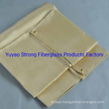 Ceramic Fiber Welding Blanket with Vermiculite Coating and S. S Wire
