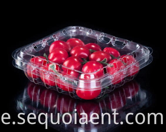 PVC Plastic Blueberry Clamshell Box