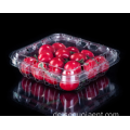 PVC Kunststoff Blueberry Clamshell Box