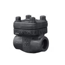 Válvula de retenção NPT / Sw de aço carbono forjados 800lb API