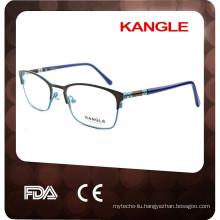2017 Best desgin classic Unisex metal optical eyeglasses & metal optical frame