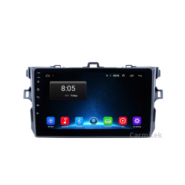 Octa core android car playr para Corolla