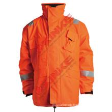 Orange esd flame prevention garment for safty equipment