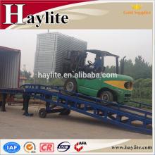 Rampa de carga de hierro portátil 50T de china