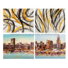 Abstrakte Landschaft Handgemalte Öl Leinwand Gemälde für Wand Dekor