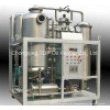 Máquina de filtrado y reacondicionamiento de aceite de cocina residual