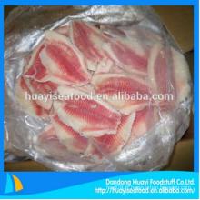 Filet de tilapia congelé au prix de gros de poisson