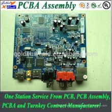 chine oem cricuit conseil gps pcb avec module et bga assemblée fabricant automatique pcba