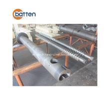 Baril de vis standard de tuyau de pvc de machine d'extrudeuse à vis