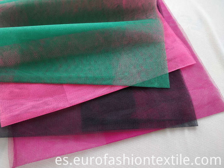 Polyester Stiff Tulle Fabric