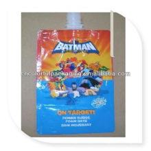 Suco da folha de alumínio & bebida do bico da bebida / saco de plástico do bico de água potável / saco de empacotamento líquido do saco do bico