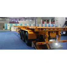 DongFeng 3-Axle Flat Bed نصف مقطورة