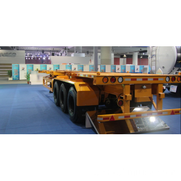 DongFeng 3-Axle Flat Bed Semi-trailer