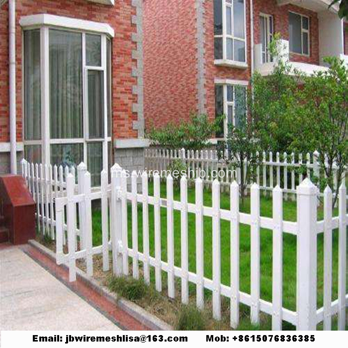 Pagar Taman Plastik / PVC Steel Picket Fence