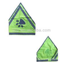 High visibility reflective dog safety vest