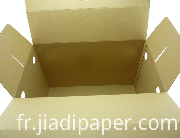 Corrugated Box With Handle