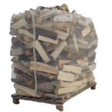 Breathable Firewood Bulk Mesh PP Big Bag For Packing Wood Bulk Sale In Canada Ventilated Firewood Bags