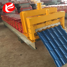 Roof sheet machine glazed tile roll forming machine