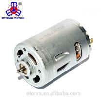 Top venta de motor de corriente continua pequeña ET-DCM3650RTM motor de corriente continua de alta velocidad de 5 voltios
