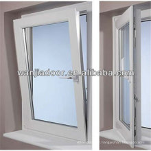 fenêtre à charnière latérale / fenêtre à battant et à charnière / série 60 fenêtre à guillotine en pvc / guangzhou