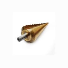4-39mm HSS Round Shank Titanium Coated Step Drill