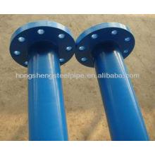 ERW TUBOS DE ACERO CON FLANCOS A53 (A, B)