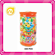 420PCS Puzzle Brinquedos Interessante DIY Bloqueia Jogo