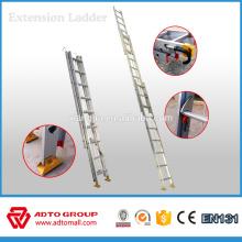 Echelles pliantes ADTO EN131, échelle à 2 sections, échelle portable aluminium