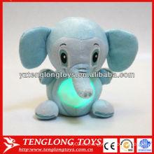 Regalos para niños elefante en forma de color LED personalizado que cambia la luz de la noche