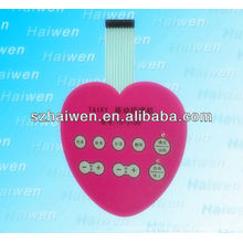 induction membrane switch