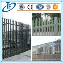 100 x 55 x 5mm,100 x 68 x 5mm Steel Palisade Fence