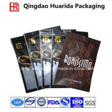 Штейновый законченный пластичный мешок упаковки еды с застежкой-молнией/мешки ботом