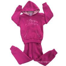 Sudaderas con capucha de la muchacha de la moda, sudaderas con capucha de los niños en la ropa de los niños (SWG-111)
