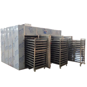 304 stainless steel moringa leaf 48 trays high quality hot air circulation oven  chalk drying equipment herb dryer machine