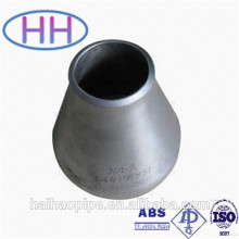 China stainless steel pipe con reducer