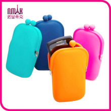 Bnwt Silicone Coin Purse Beach Cell Phone Protection Case Money Pouch Candy Colors