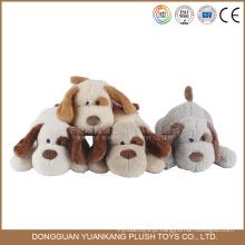 Yk EN71 pelúcia recheado animado grande cabeça brinquedo cão