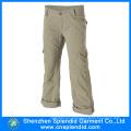 China Calças 100% do trabalho do algodão dos bolsos de Serval dos homens do fabricante de vestuário
