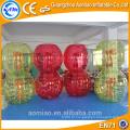 1.5m-1.7m tamanho para adultos futebol ao ar livre bola de amortecedor inflável