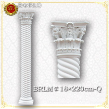 White Roman Column Wedding Pillars for Wedding Decoration