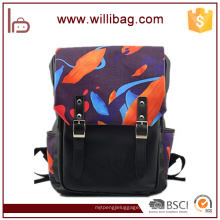 Alta qualidade design personalizado moda impressão mochila saco de viagem