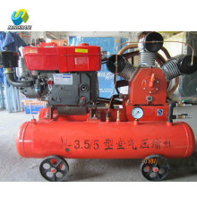 Mining Diesel Engine mini mobile air compressor