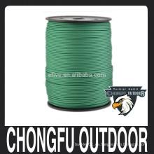 Nylon Military Paracord 550 lbs Tipo III Cable de cable de 7 vías de utilidad 1000 pies para camping y supervivencia
