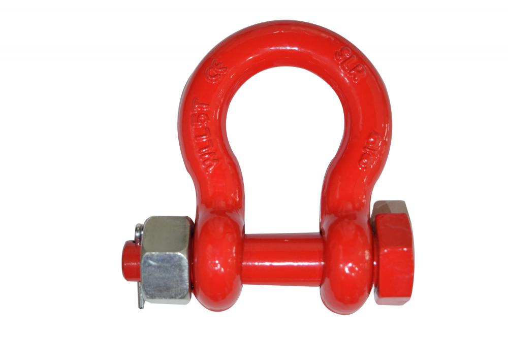 G8 BOLT TYPE ALOWY BOW SHACKLE
