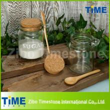 250 ml de pot clair en verre avec couvercle en liège